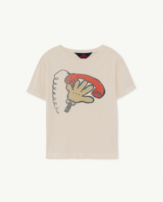 【THE ANIMALS OBSERVATORY】ROOSTER KIDS T-SHIRT BB