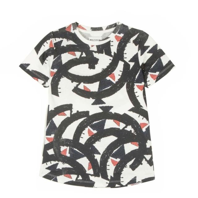 【WOLF & RITA】T-shirt/SEBASTIAO /BROKEN FALL