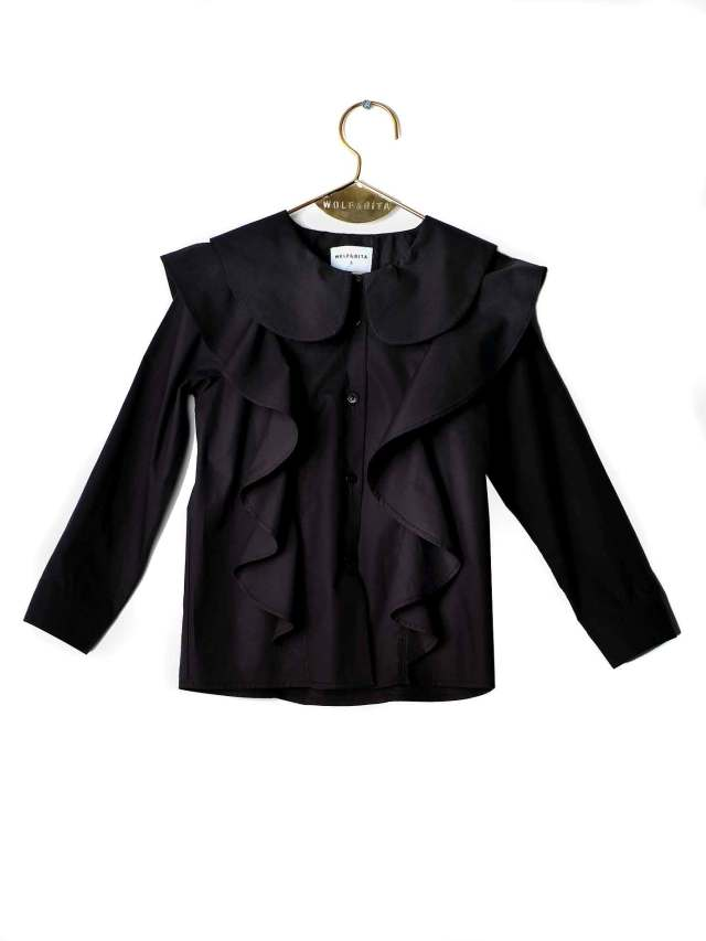 【WOLF & RITA】 REBECA - Blouse/BLACK