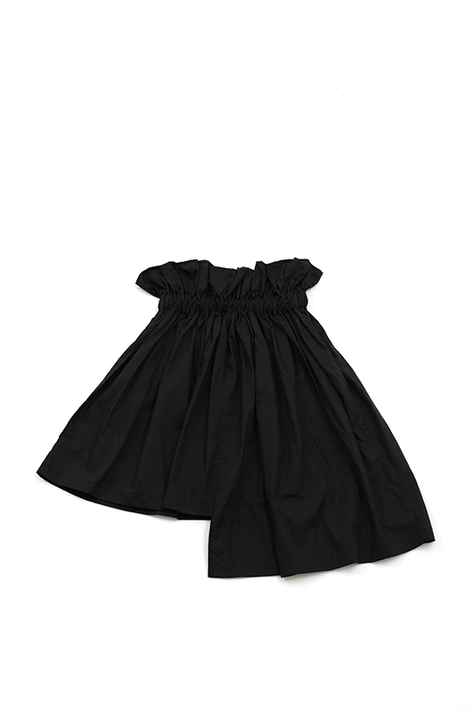 【UNIONINI】SK-002/asymmetry skirt/black