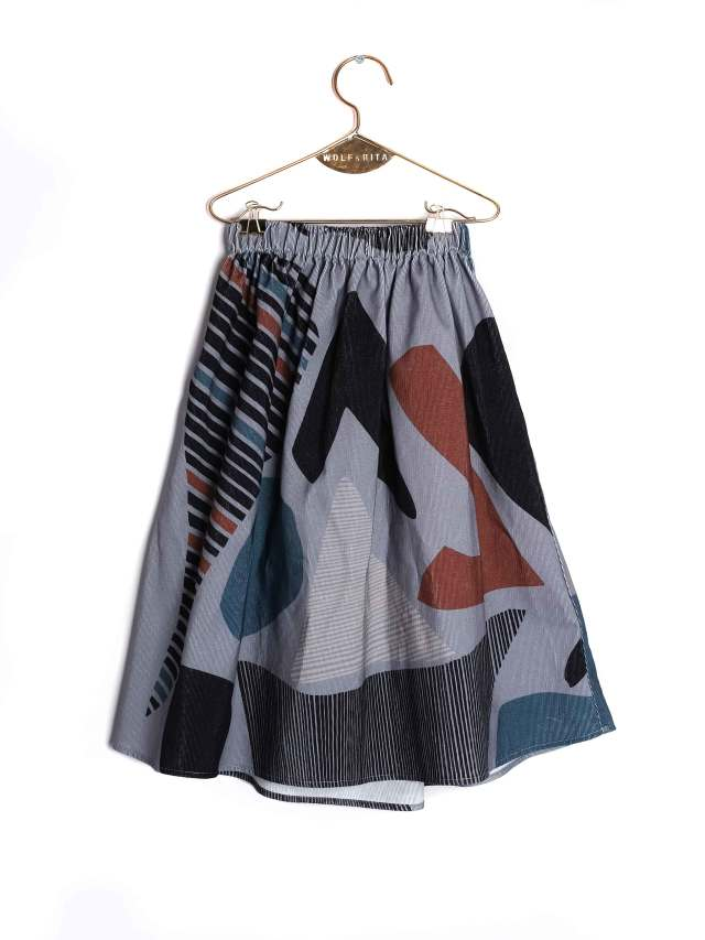 【WOLF & RITA】 LURDES - Skirt/SHAPES - CORDS