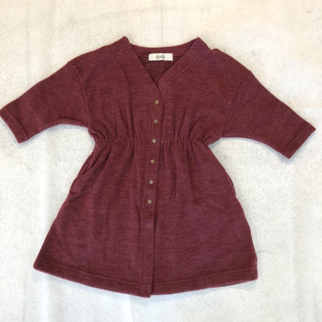 【eLfinFolk】 elf-182J30 melange gown dress