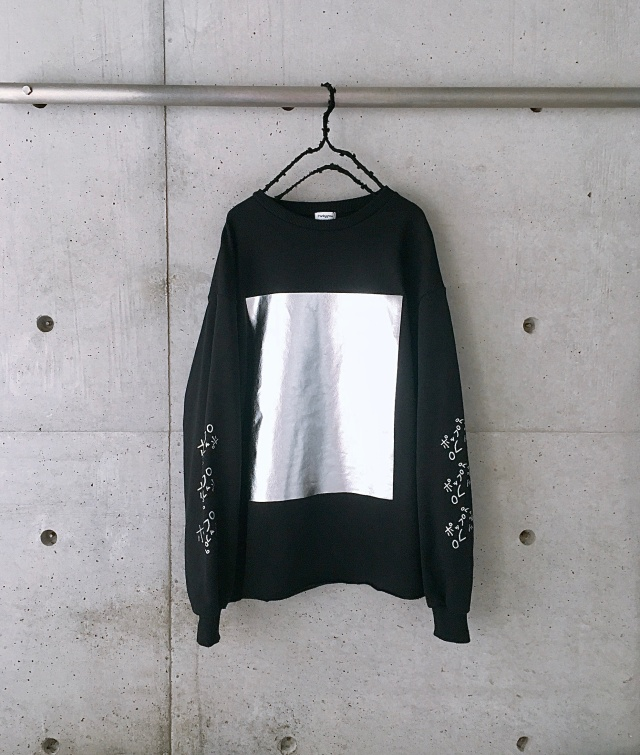 【frankygrow】stitchhouse21st limited SQUARE HOIL SWEAT SHIRTS/BLACK