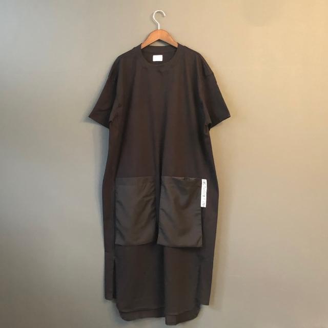 【arkakama/TuNO】Tn20ss-2/20' POCKET BIG Tee Dress