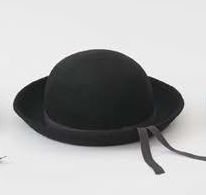 【WILLYS/ウィリーズ】Bowler Hat(ブラック)/Kids51cm54cm