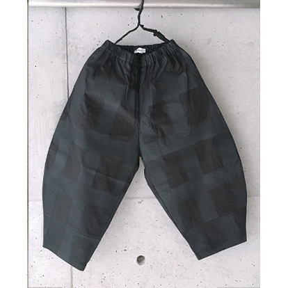 【frankygrow】21SBT-235 ORIG. CHECK BIG PANTS