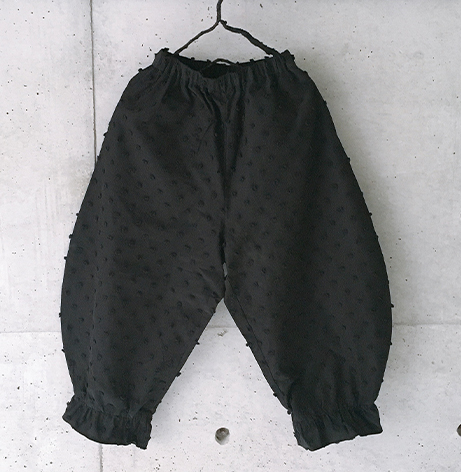 【frankygrow】21SBT-246 BONBON CUT JQ ANKLE TIDE PANTS
