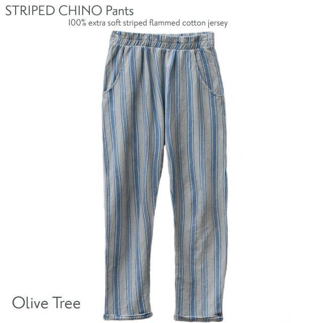 【LE PETIT GERMAIN】CHINO STRIPED pants