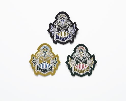 【cokitica】cokitica emblem brooch