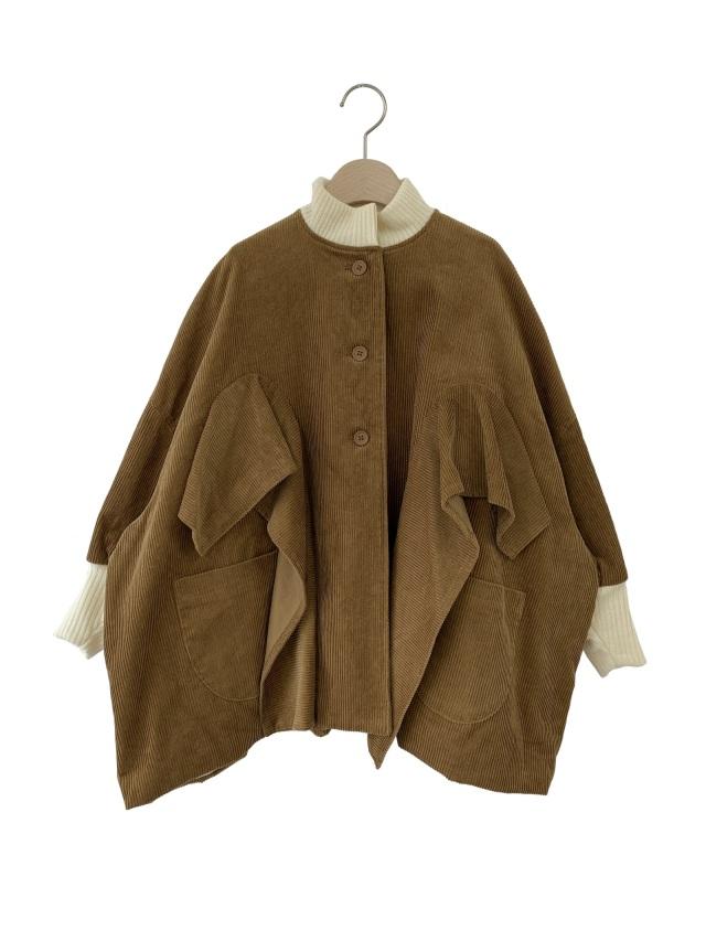 【UNIONINI】CO-021 corduroy coat おとな(S/M) brown