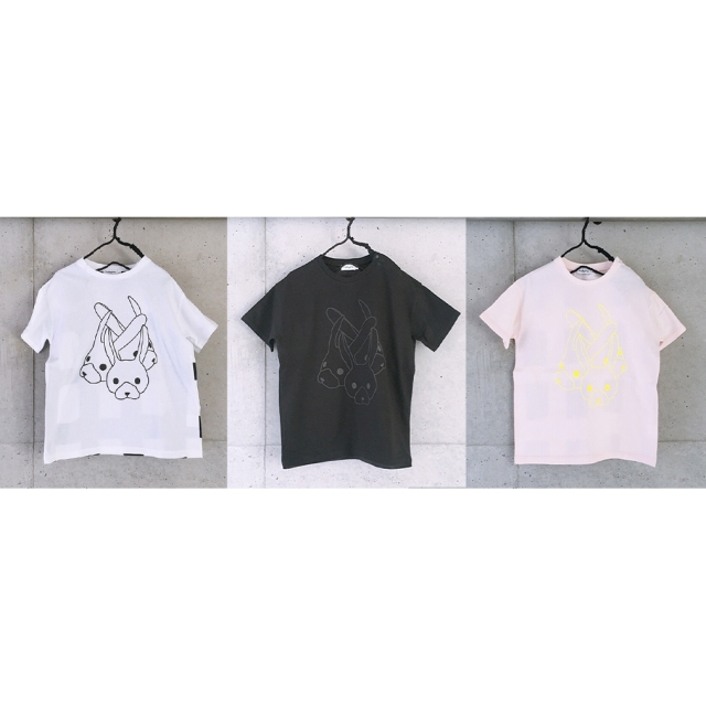 【frankygrow】21SCS-381 RABBIT MIX TEE