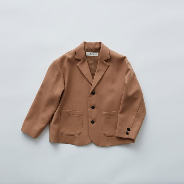 【eLfinFolk】ご予約会・23日23時までelf-111F07 Ceremony  tailored box jacket