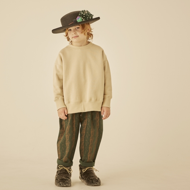 【eLfinFolk】elf-202J31 big sweat shirts
