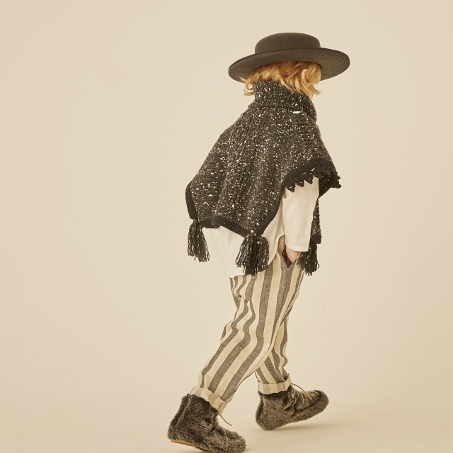 【eLfinFolk】elf-202F28 striped linen  pants