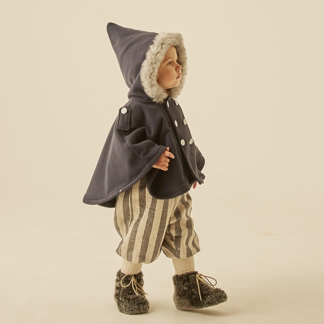 【eLfinFolk】elf-202F45 freece  baby cape