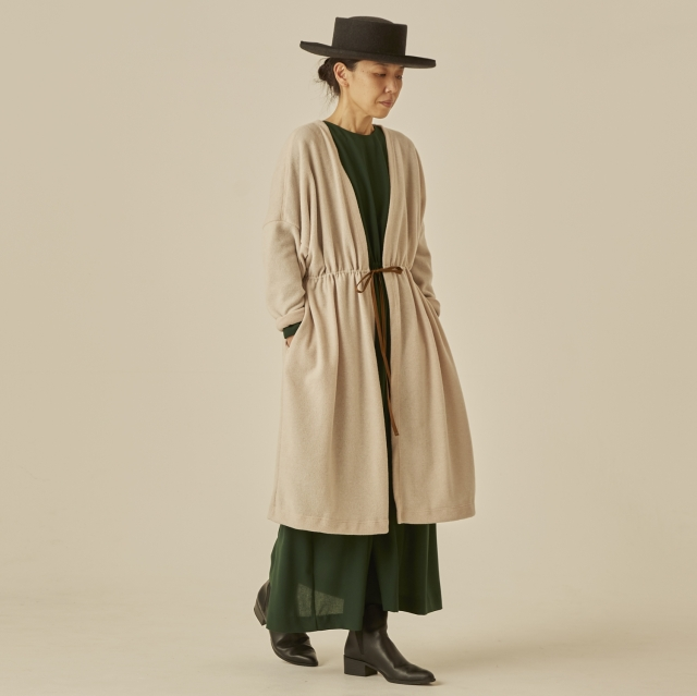 【eLfinFolk】elf-202J75 melange gown