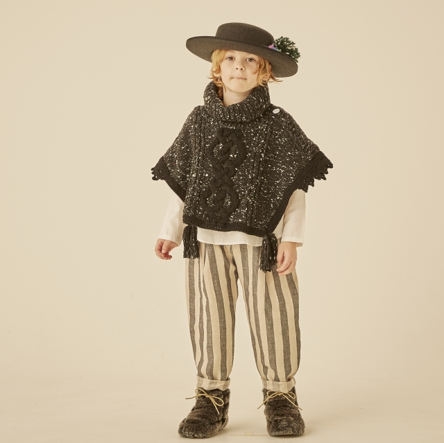 【eLfinFolk】elf-202K10 handmade knit mantle