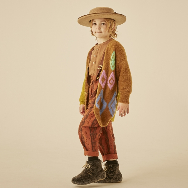 【eLfinFolk】elf-202K25 jura knit  cardigan