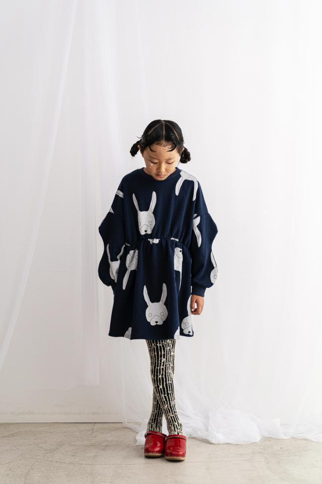 【frankygrow】21FWOP-177 WAIST GATHER SWEAT DRESS