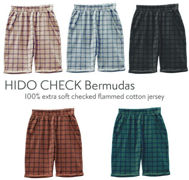 【LE PETIT GERMAIN】HIDO CHECK Bermudas shorts