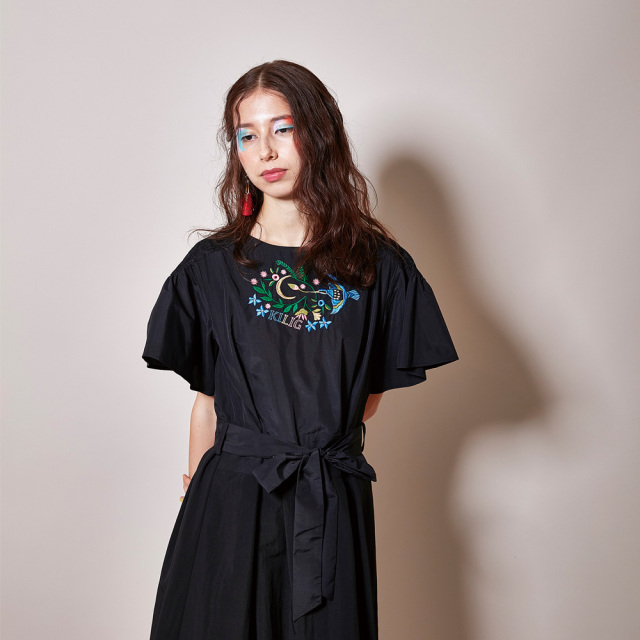 【JI'NE】 JN2S-OP07 Rainbirdドレス