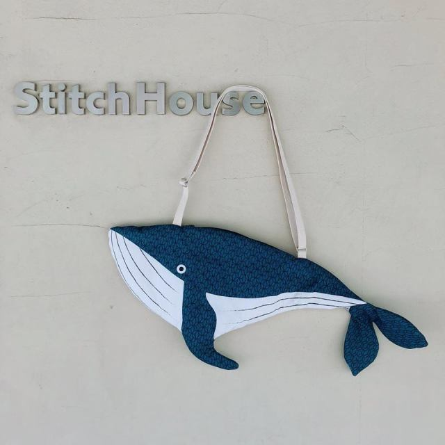 【DON FISHER】ALASKA - BAG - WHALE くじらバッグ