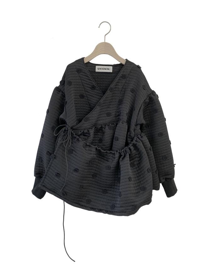 【UNIONINI】JK-004 metelasse chech-coeur jacket おとな(S/M) black