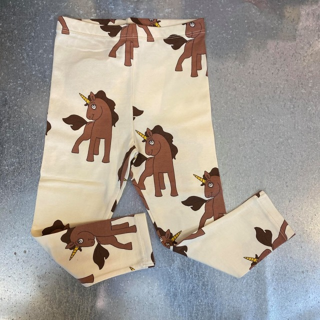 【minirodini 】  Unicorns aop leggings
