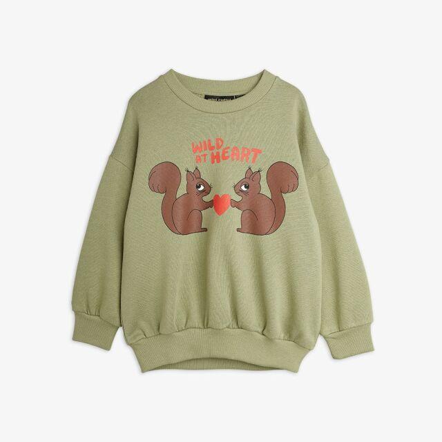 【mini rodini】Wild At Heart Sweatshirt