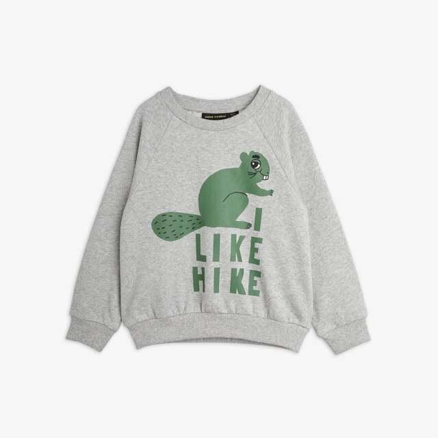 【mini rodini】Beaver Hike Sweatshirt
