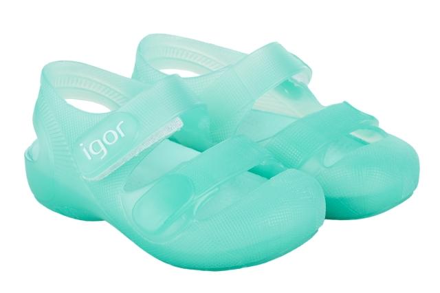 【igor(made in spain)】サンダル・Bondi/Aguamarinaアクア/11-18cm