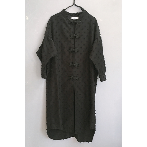 【frankygrow】21SSH-054 BONBON CUT JQ CHINA LONG SHIRT