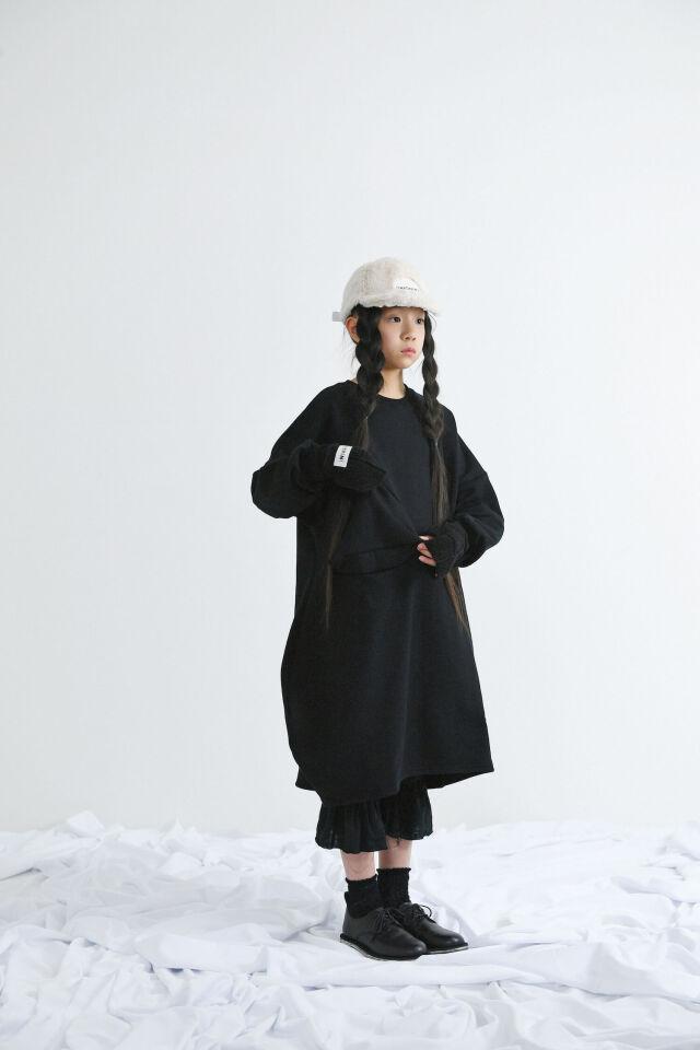 【UNIONINI】OP-068 ◯△ sweat long dressg キッズ~大人まで