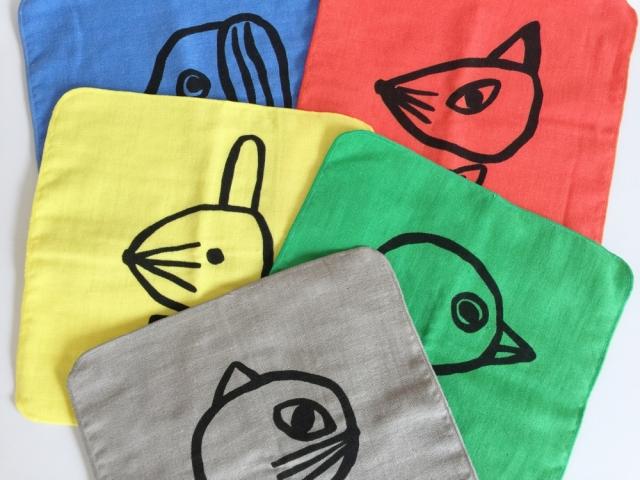 【山鳩舎】Hand Towel(タオルハンカチ)