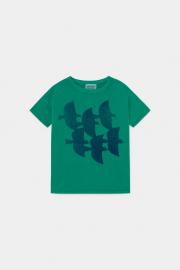 【BOBOCHOSES】12001003Flying Birds T-Shirt