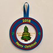 【Stitch House Original】クリスマスオーナメント2018