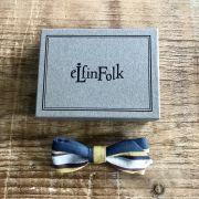 【eLfinFolk】Regimen stripe bow tie