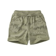 【MINGO.】MI2000253A1 Short/Grass Print Oak