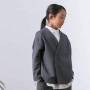 【MOUNTEN.】 polyester canapa Jacket