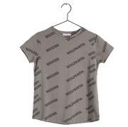 【WOLF & RITA】T-shirt SEBASTIAO RUDY RUBY GREY