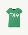 【THE ANIMALS OBSERVATORY】1044HIPPO KIDS T-SHIRT