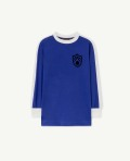 【THE ANIMALS OBSERVATORY】000998_053_NH Deep Blue Deer T-Shirt
