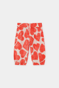 【BOBOCHOSES】12000066All Over Hearts Baggy Trousers