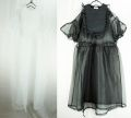 【frankygrow】20SOP-155 QUILTING STY ORGANDY DRESS