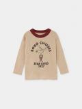 【BOBOCHOSES】219003 THE MOOSE LONG SLEEVE T-SHIRT