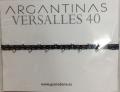 【guanabana ARGANTINAS40】ミサンガブレス/ブルーレッド×シルバー