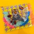 【frankygrow×bavard cadeau】ポーチ/タイガー