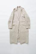 【eLfinFolk】elf-191F56 herringbone linen long coat