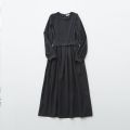 【eLfinFolk】elf-192F50 modal belted long dress