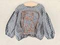 【UNIONINI】BL-005/cat blouse/black